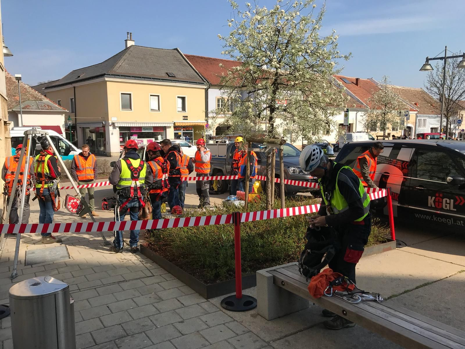 Energie Burgenland Dach- und Schachtschulung