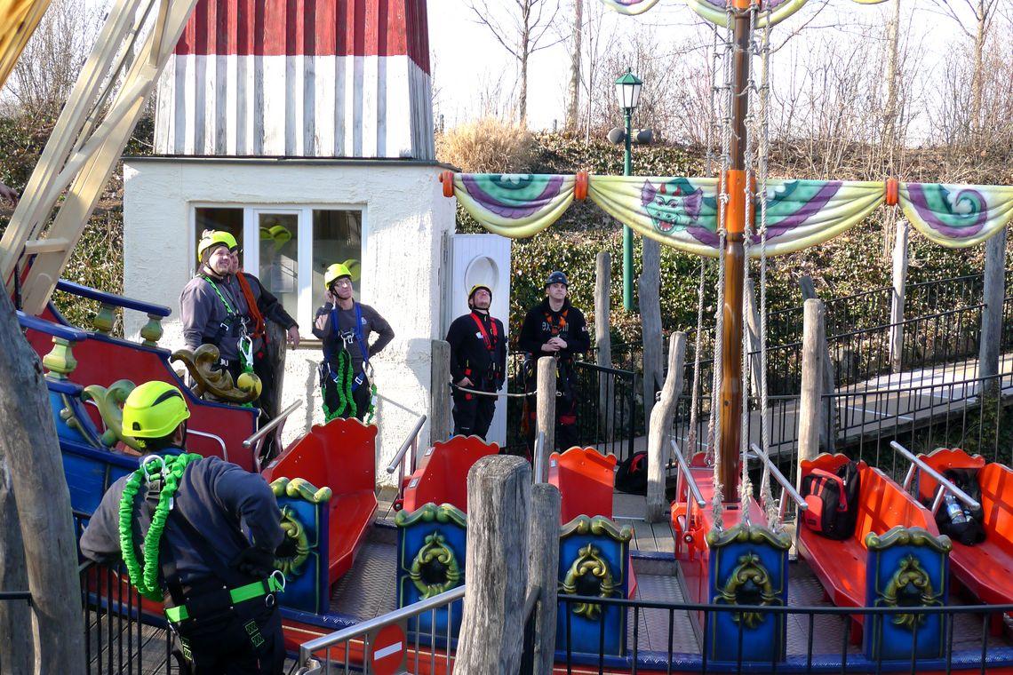 Familypark - Arbeiten in Höhen