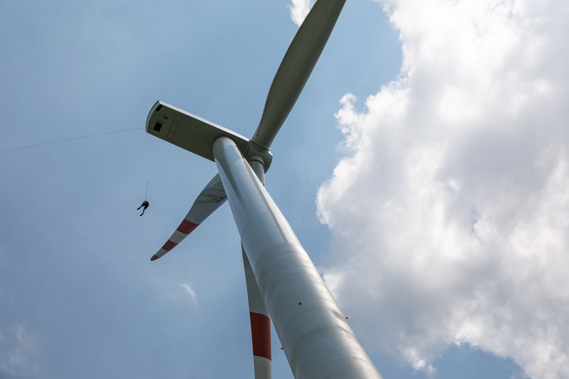 Windkraftanlage - Schulung